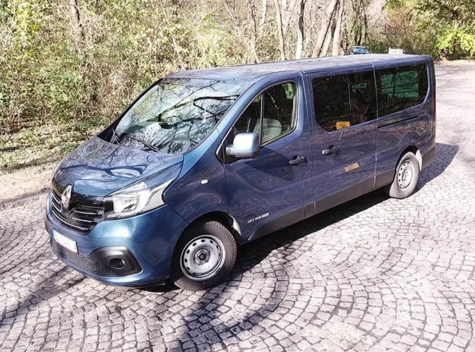 Renault Trafic 8+1 2016 Exclusive